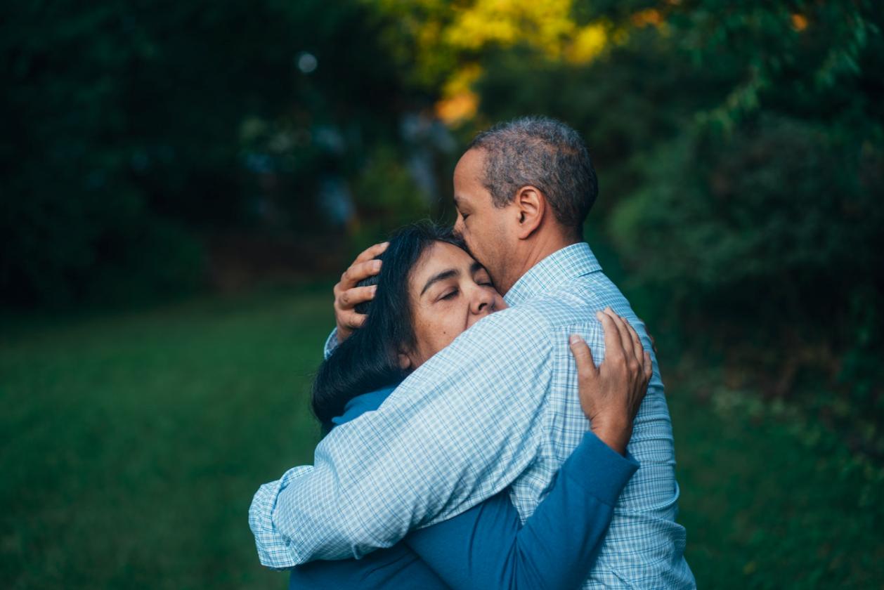 Online-Dating eines Krebspatienten